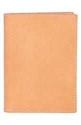 Men's Shinola Leather Passport Wallet