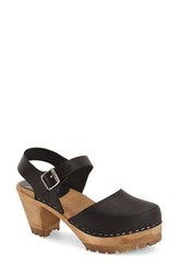 Women's Mia 'Abba' Sandal Black Leather