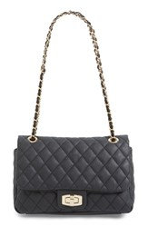 Junior Women's Bp. Quilted Faux Leather Crossbody Bag