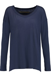 Enza Costa Pima Cotton Top Blue