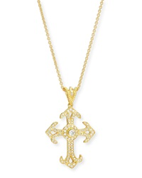 Aegean Collection Diamond Cross Pendant Necklace Eli Jewels