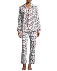 Bedhead Printed Long Sleeve Classic Pajama Set Holiday