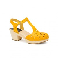 Swedish Hasbeens Lacy Sandal Sandals Yellow