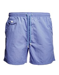 The Idle Man Swim Shorts Purple