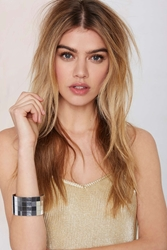 Nasty Gal Suzywan Deluxe Disco Doll Tiled Bangle