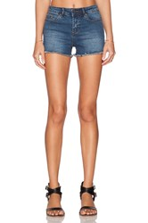 Obey Lean And Mean Classic Jean Short Indigo