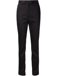 Jason Wu Satin Slim Trousers Black