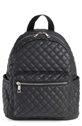 Junior Women's Amici Accessories Faux Leather Quilted Backpack