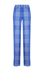 Dondup Bardoline Checkered Trousers Blue