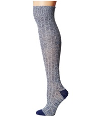 Ariat Above Knee Comy Socks Blue Women's Knee High Socks Shoes