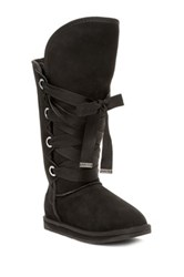 Australia Luxe Collective Bedouin Genuine Sheepskin Tall Boot Black