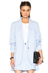 Acne Studios Wynn Blazer In Blue