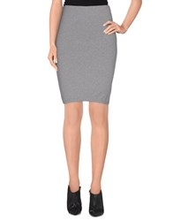 Only Skirts Knee Length Skirts Women Grey
