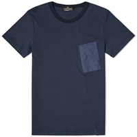 Stone Island Shadow Project Nylon Pocket Tee Navy