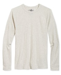 American Rag Men's Long Sleeve Thermal Shirt Only At Macy's Oatmeal