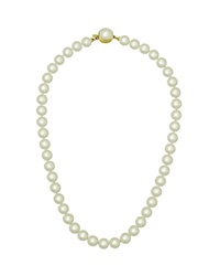 Majorica White Simulated Pearl Necklace 16
