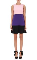 Lisa Perry Women's Colorblocked A Line Dress No Color