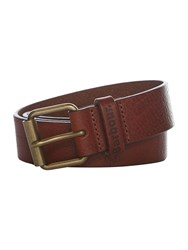 Barbour Casual Leather Belt Tan