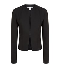 Boss Womenswear Jency Collarless Blazer Female Black