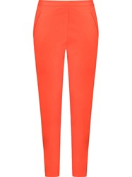 Andrea Marques Panels Detail Skinny Trousers Red