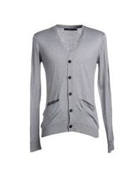 Kai Aakmann Cardigans Light Grey