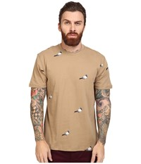Staple All Over Pigeon Tee Khaki Men's T Shirt