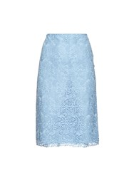 Nina Ricci Macrame Lace Pencil Skirt