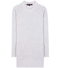 Proenza Schouler Wool And Cashmere Sweater Grey
