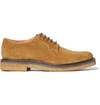 Dries Van Noten Suede Derby Shoes Sand