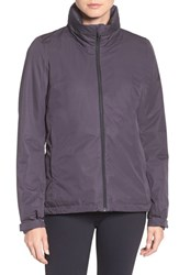 Adidas Women's 'Wandertag' Climaproof Waterproof Jacket Utility Black