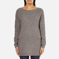 Barbour International Women's Tappet Knitted Jumper Taupe