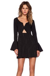 Whitney Eve Gauva Dress Black