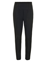 Rosie Assoulin Slim Fit Cotton Faille Trousers