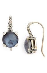 Stephen Dweck Women's Semiprecious Stone Drop Earrings Hematite Silver