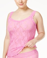 Hanky Panky Plus Size Signature Lace Camisole 1390Lx Enchanted Pink