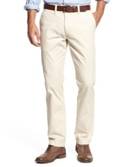 Tommy Hilfiger Big And Tall Chino Pants Sand Khaki