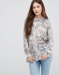 Only Floral Print Shirt Multi