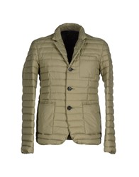 313 Tre Uno Tre Coats And Jackets Down Jackets Men Military Green
