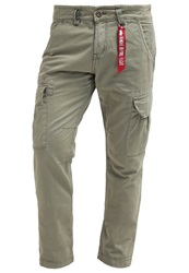 Alpha Industries Agent Cargo Trousers Light Olive