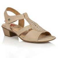 Lotus Relife Cynthia Open Toe Sandals Beige