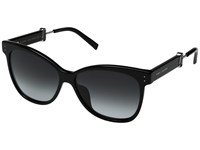 Marc Jacobs 130 S Black Dark Gray Gradient Lens Fashion Sunglasses