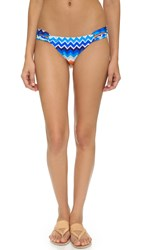 Shoshanna Laguna Loop Bottoms Blue Multi