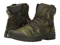 Palladium Pampa Sport Cuff Mc Tropic Camo Lace Up Casual Shoes Olive