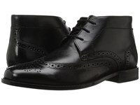 Nunn Bush Nichols Wingtip Chukka Boot Black Men's Dress Lace Up Boots