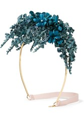 Gucci Floral Satin Headband