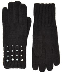 Cc Black Pearl Knit Gloves