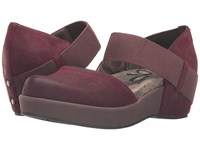 Otbt Migrant Wine Women's Wedge Shoes Burgundy