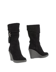 Armani Jeans Footwear Ankle Boots Women Black