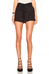 L'agence Alex Shorts In Black