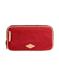 Fossil Beauty Cases Maroon